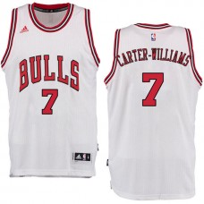 2016-17 Season Michael Carter-Williams Chicago Bulls #7 New Swingman Home White Jersey